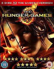 The Hunger Games (Blu-ray, 2012, 2-Disc Set) SEALED Free P&P Unseen Version