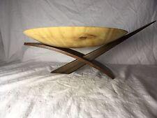 Joe Kovecses Signed Large Wooden Ikebana 312 Vase (Maple, Bubinga, Wenge)