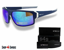 TAG Heuer Racer 2 Sunglasses MATTE DARK BLUE_LIGHT GREY_BLUE MIRROR 9222 906 69