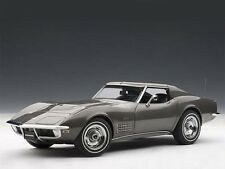 AUTOart Chevrolet Corvette 1970 Grey Met. 1:18 (71173)