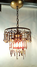 Unique Skeleton Key Chandelier Steampunk Art Light Lamp