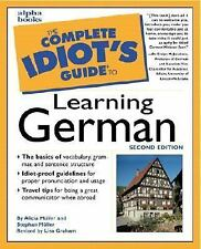 The Complete Idiot's Guide to Learning German 2nd Edition 2000 Muller Alicia