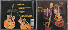 CD MARK KNOPFLER CHET ATKINS NECK AND NECK 10 TITRES DE 1990