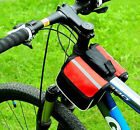 Cycling Frame Pannier Mountain Bike Saddle Bicycle Front Tube Bag Pouch