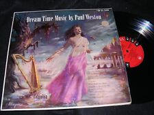Nice Painted Semi-Nude Cover MOOD LP Classic DREAM TIME Music By Paul Weston 50s