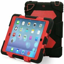 Aceguarder Denfender Shockproof Heavy Duty Rubber With Stand Case Cover For iPad