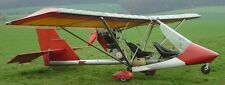 S-34 Skystar Skyfly Swiss Light Airplane Wood Model Replica Small Free Shipping
