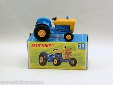 Matchbox Lesney 39 Ford tractor neuf/boîte (#MBA)