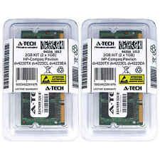2GB KIT 2 x 1GB HP Compaq Pavilion dv4220TX dv4223CL dv4223EA Ram Memory