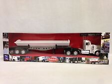 Peterbilt 379 w/Side Dump Trailer, Collectible,1:32 Die Cast, New Ray Toys, WT