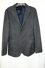 A/X Armani Exchange Mens 38 Chest Upscale Heavy Cotton Career Casual Blazer