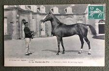 CPA. LE HARAS DU PIN. 61 - FOURIRE Étalon de Pur Sang Anglais. 1912. Cheval.