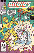Droids #2 Marvel Star C3PO R2D2 Star Wars kid friendly space adventure robot VF-