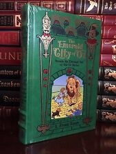 The Emerald City of Oz by L.F. Baum Sealed Leather Collectible Wizard Books 6-10