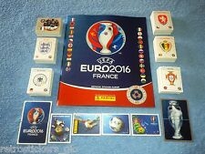 PANINI EC EURO 2016 - EMPTY ALBUM + CPL STICKERS SET (Star/Swiss Edition) - MINT