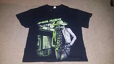 Jason Aldean Night Train Tour Two Sided T-Shirt Men's S Small 100% Cotton Anvil