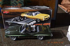 GMP 1:18 1971 PONTIAC GTO GREEN WITH BLACK INTERIOR (THE JUDGE)