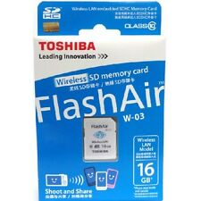 Toshiba 16GB SDHC 16G SD W-03 WiFi C10 FlashAir III Wireless WI-FI memory Card