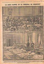 Cour d'Appel Tribunal de Commerce Bruxelles Brussels Ambulance Belgique WWI 1915