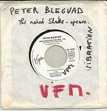 PETER BLEGVAD How beautiful you are FRENCH PROMO SINGLE VIRGIN 1983
