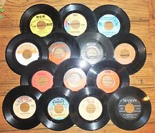 "Vintage Lot 14 Juke Box 45 RPM Records Various Artists 1-DJ Copy ""IN THE NAVY"""