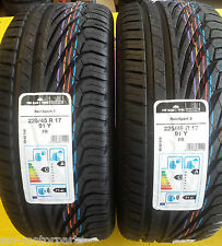 2x 225 45 17 Uniroyal Rainsport 3 91Y PHENOMENAL A Wet Grip FULLY FITTED 2254517