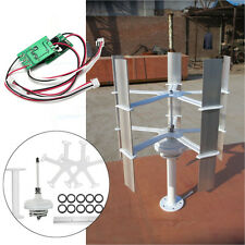 10w Max 15W DC12V High-efficient Small Domestic Wind Turbine Generator 5 Blades