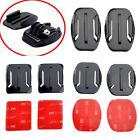 Protable 16pcs Flat Curved Adhesive Mount Helmet Accessories For Gopro Hero 3/4