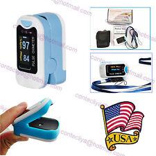USA Factory OLED Finger Pulse Oximeter Fingertip Oxygen Monitor SPO2 PR,CMS50N