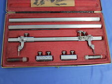 Vintage VEMCO BEAM Compass Set For Drafting Drawing Design Layout with Case