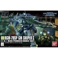 Bandai GM Sniper II Gundam Model Kits HG 1/144