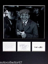 DAVID JASON NICHOLAS LYNDHURST signed autographs DISPLAY Only Fools and Horses