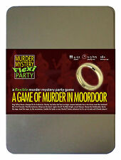 A Game of Murder in Moordoor - Murder Mystery Flexi Dinner Party for 6-14 Player
