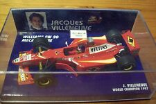 1/43 WILLIAMS 1998 MECACHROME FW20 JACQUES VILLENEUVE