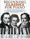 Beginning Classics For Piano Learn to Play EASY CLASSICAL BEGINNER Music Book