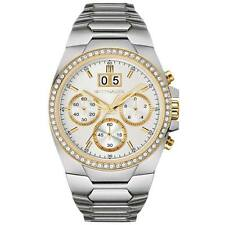 Wittnauer WN3047 Men's 132 Crystals Stainless Steel Date Chronograph Watch