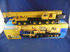 Conrad Ref. 2091 Grove GMK 6250 250T 6 Axle Mobile Crane in Yellow Scale 1:50
