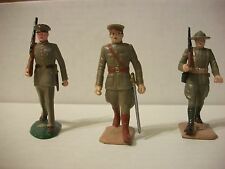 Marx Warriors of the World  3 Marines Mint w/ gold labels!