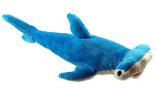 Blue 30 cm Hammerhead Shark Soft Plush Cuddly Toy