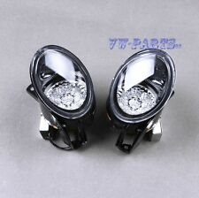 Pair Front LED Powered Front Fog Lights Bright White Color For Passat B6 3C2 3C5