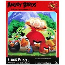 "Angry Birds 24"" x 36"" 46 Piece Lenticular Floor Puzzle-Brand New in Box!"