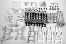Upgrade Parts Package For HSP RC 1/10 Electric / Nitro  Monster Truck Silver