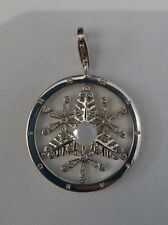 New Genuine Thomas Sabo Sterling Silver CZ Snowflake Pendant T0116 £99.95