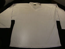 Philly Express PX Mens Adult Hockey Practice Jersey S Small Silid White Poly USA