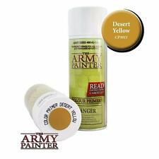 Army Painter Desert Yellow Spray Colour Primer 400ml TAP CP3011