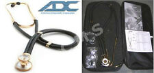 "ADC Adscope 645 Sprague 18K Gold 22"" Professional Special Edition Stethoscope US"