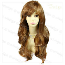NEW STYLE Bouncy Wavy Long Blonde Mix Ladies Wig skin top Hair from WIWIGS UK