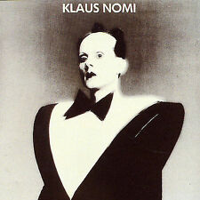 CD-Klaus Nomi-Klaus Nomi  Feb-1990, Bmg/Rca Records Label)