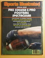 Sports Illustrated Special Issue 1983 College And Pro Football Spectacular