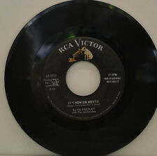 "ELVIS PRESLEY- IT`S NOW OR NEVER - A MESS OF BLUES RCA 47-7777 Single 7"" (J32)"